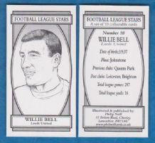 Leeds United Willie Bell 10